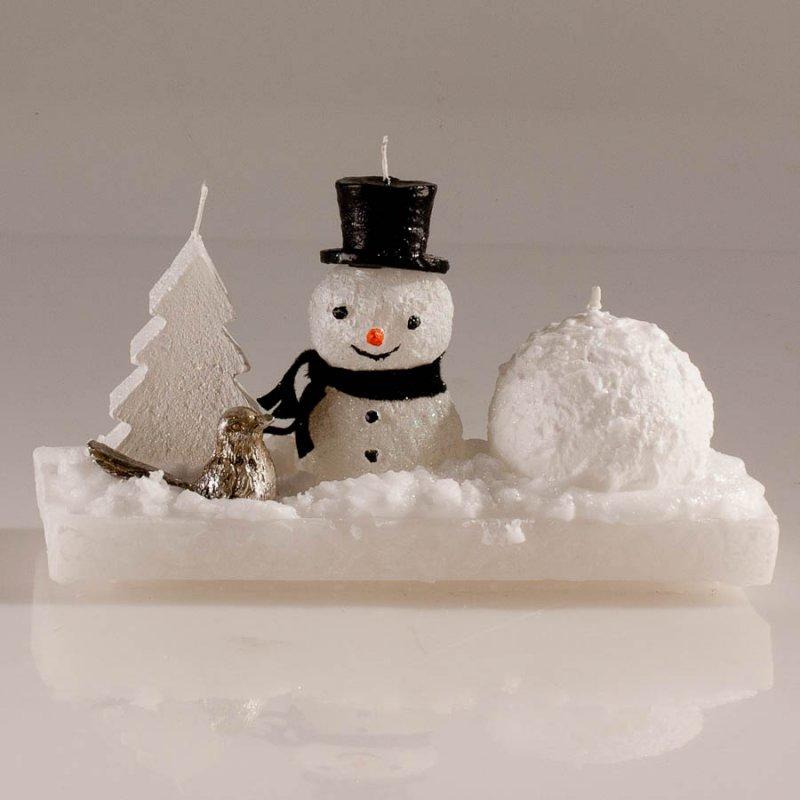 Weihnachtsgestecke schneemann schneeball baum modern und for Weihnachtsgestecke modern