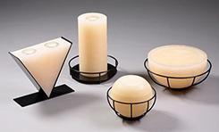 Kerzen mit Teelicht