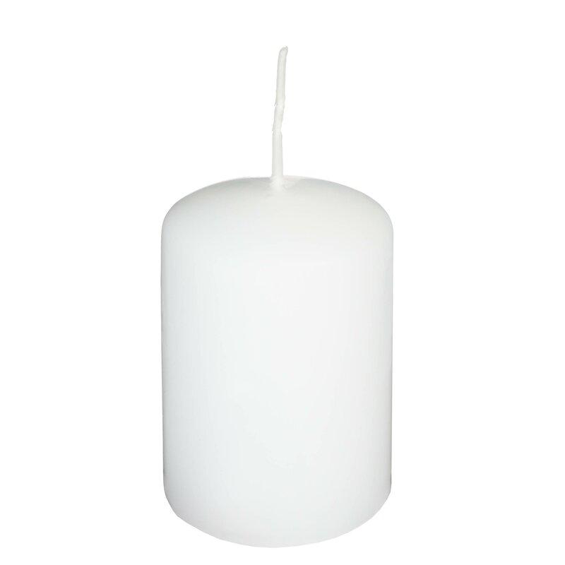 Top RAL Qualität Silbergrau Kerzen//Stumpenkerzen 24 Stück 60 x 40 mm Farbe