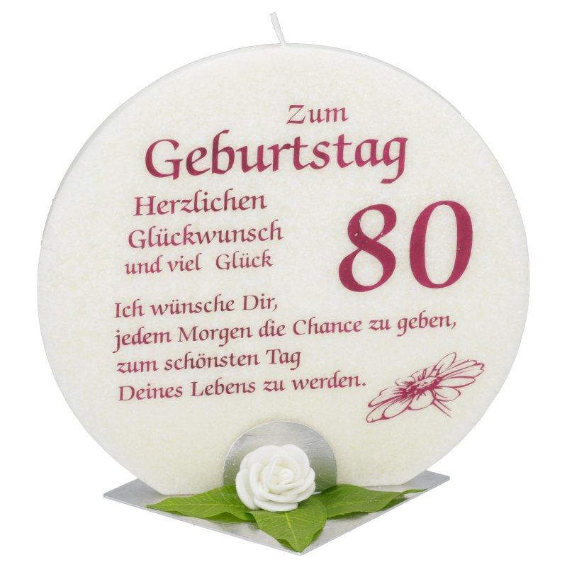 Geburtstagswunsche Zum 80 Geburtstag