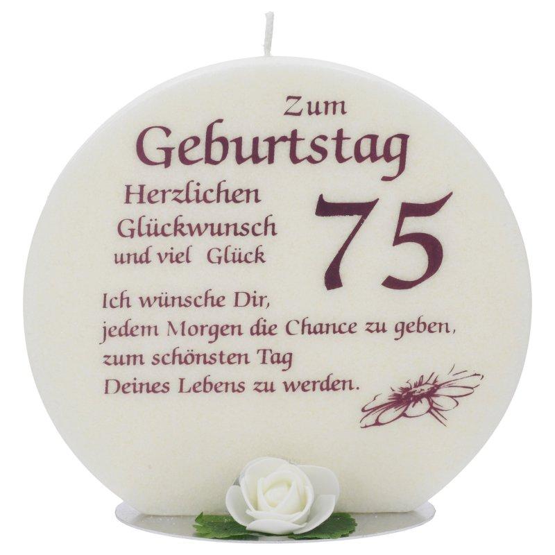 Geburtstagssprüche Zum 75.