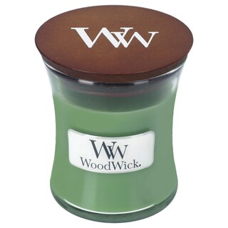 Knistern und Duft Woodwick sehr kleine Petite-Duftkerze zum Ausprobieren