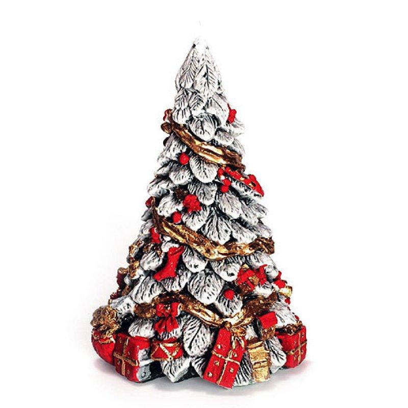 Weihnachtsbaum mit Geschenk rot - Kerzen zum Bestpreis bei ...