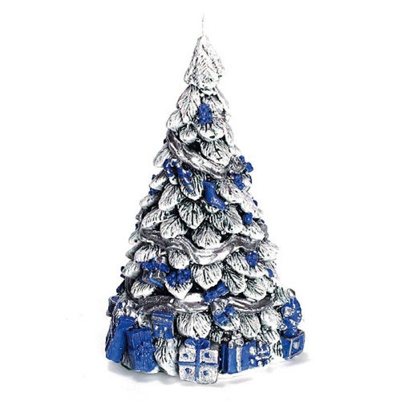 Weihnachtsbaum mit Geschenk blau - Kerzen zum Bestpreis bei ...