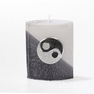 delfin yin yang kerzen zum bestpreis bei. Black Bedroom Furniture Sets. Home Design Ideas