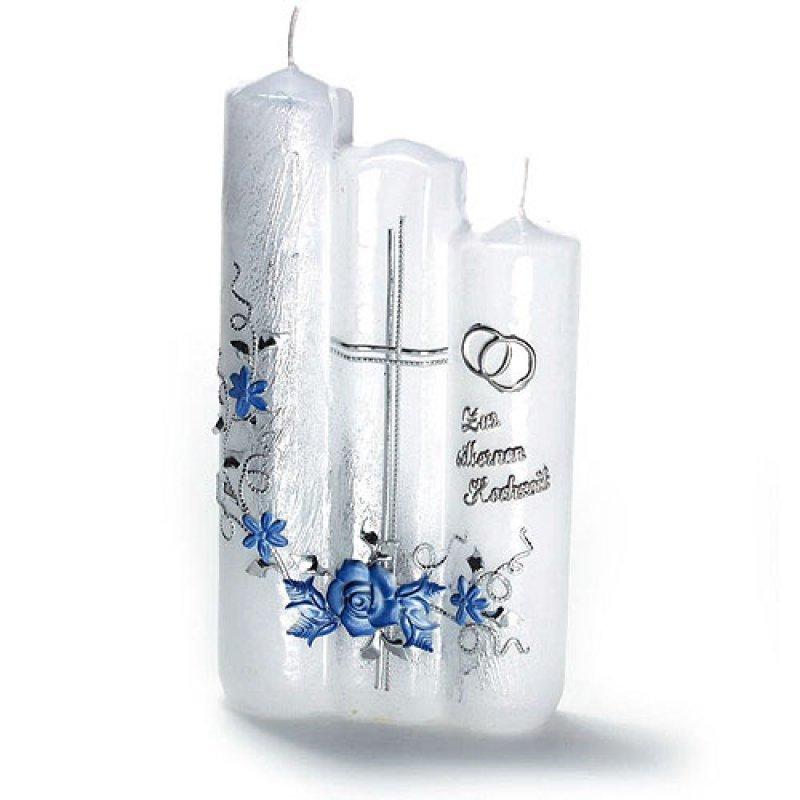 Zur silbernen Hochzeit - Kerzen zum Bestpreis bei Kerzenwelt.de, 32,00