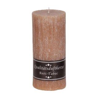 Premium Duftkerze rustik 70 x 150 mm mit Duft Anti-Tabak - Kerzen ...