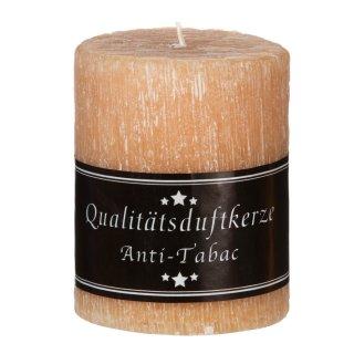 Premium Duftkerze rustik 70 x 90 mm mit Duft Anti-Tabak - Kerzen zum ...